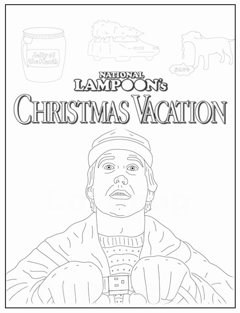 Christmas Vacation Coloring Pages Unique National Lampoon S Christma Printable Christmas Coloring Pages Christmas Coloring Pages Merry Christmas Coloring Pages
