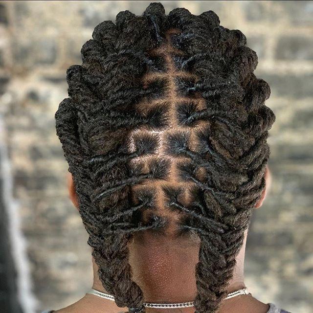 French Braid Locs Dreadlock Hairstyles For Men Hair Care French Braid
