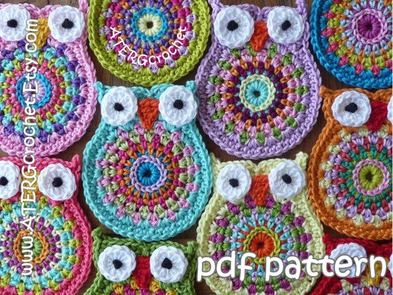 Crochet pattern OWL \'big brother\' by ATERGcrochet | Pinterest ...