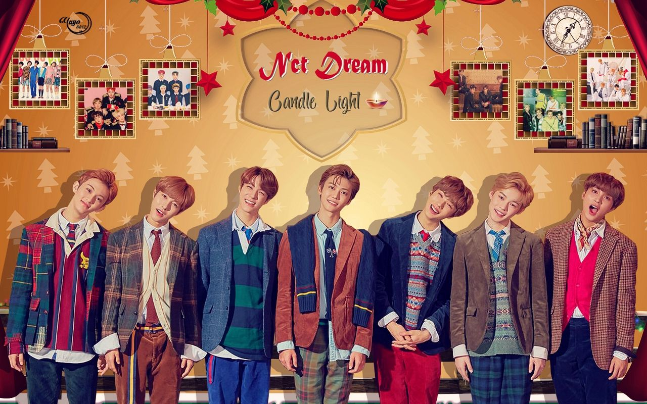 Nct Dream Candle Light Wallpaper Wallpaper Heart Boys