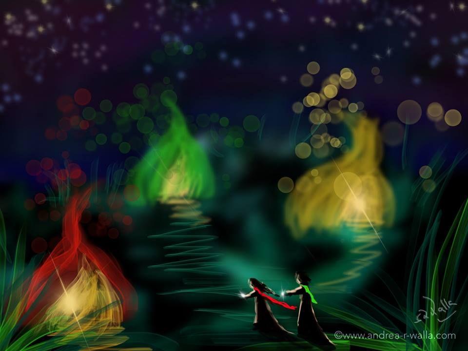 Wann wart ihr zuletzt Zeuge unter dem Sternenhimmel? In einer lauen Nacht zu der Synphonie der Natur Unter freien Himmel schlafen... 😊  Make Myday