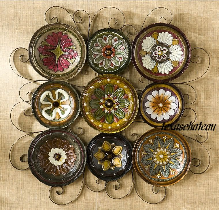 Decorative Mexican Wall Plates
