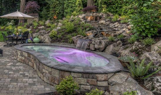 Le jardin avec bassin aquatique: 99 idées de décoration | Bassin ...