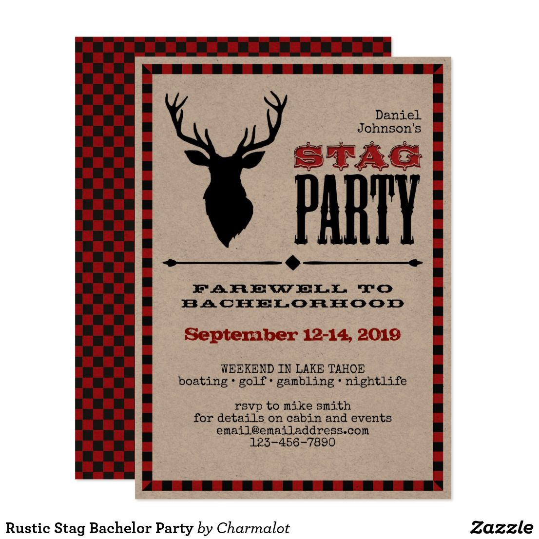 bucks night invitations | Invitationjpg.com