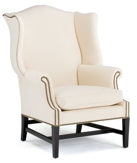 Kingswood Wing Accent Chair | Currey & Company