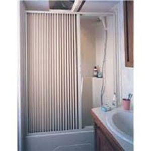 Irvine Folding Shower Door Rvupgrades Com Shower Curtain Rods
