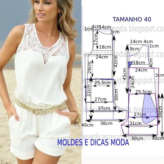 Como hacer un jumper para dama01 | Diy clothes | Costura, Patrones y ...
