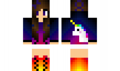 Minecraft Skin Unicorngirl Find It With Our New Android Minecraft - Skin para minecraft pe de unicornio