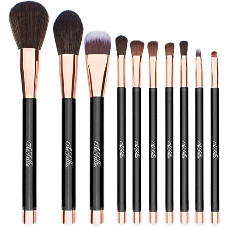 TheFellie Unicorn Makeup Brushes, Professional Cosmetics