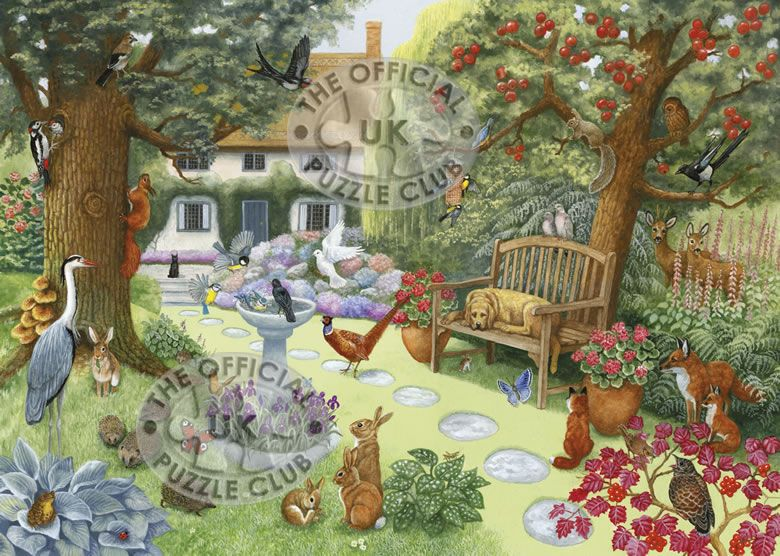 Jigsaw Puzzles English Country Garden Puzzle