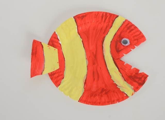 Clown fish craft and art ideas | funnycrafts & Clown fish craft and art ideas | funnycrafts | Clown fish craft and ...