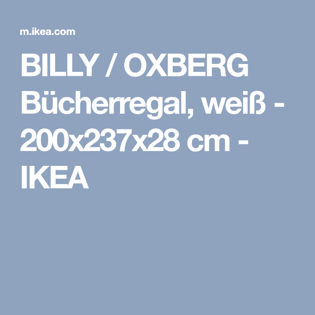 Billy Oxberg Bucherregal Weiss Ikea Deutschland Billy Oxberg Regal Und Bucherregal Weiss