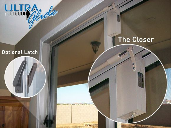 Door Closing Systems patented sliding door closer works to improve safety security and efficiency of residential and commercial properties. & DCS Ultra Glide Sliding Glass Door Closer ... may be a solution for ...