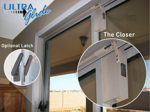 Dcs Ultra Glide Sliding Glass Door Closer May Be A Solution For Mom Sliding Glass Door Sliding Screen Doors Sliding Doors