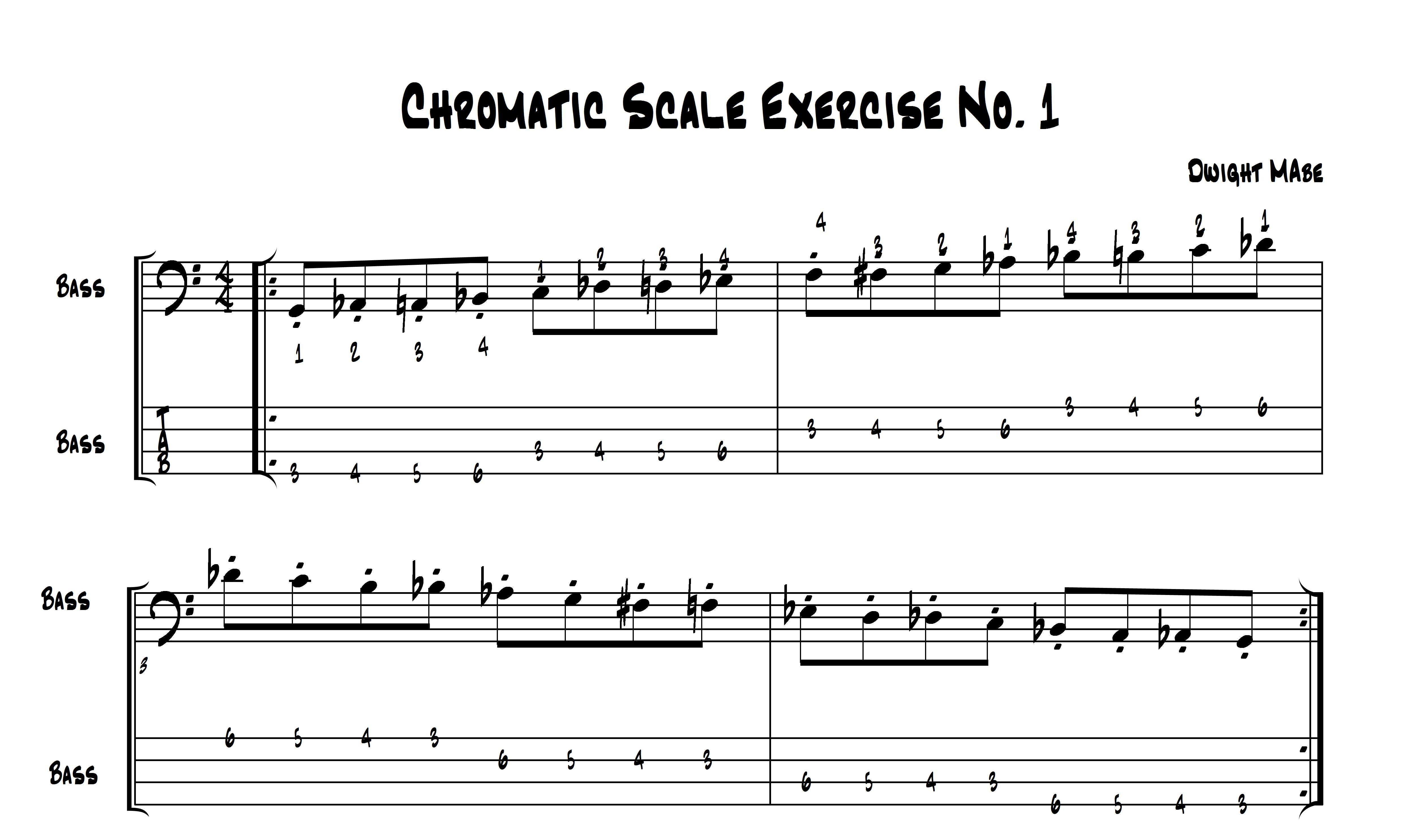 The Chromatic Scale The Underlying Key To Western Music With