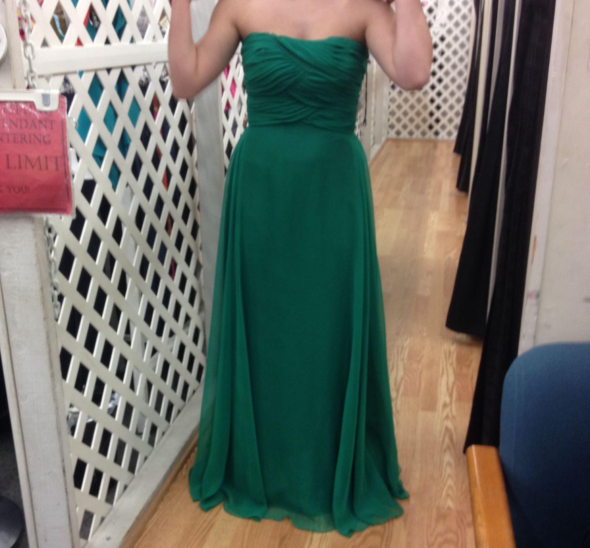 Green prom dress $65