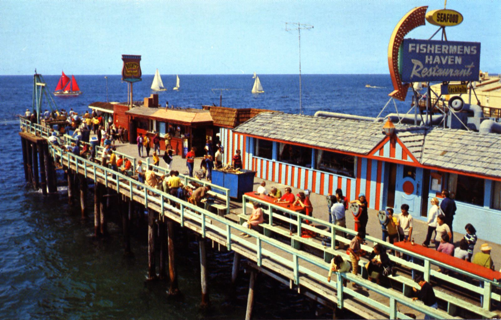 Monstad Pier Fisherman S Village Redondo Beach Ca Fishermen Haven Restaurant
