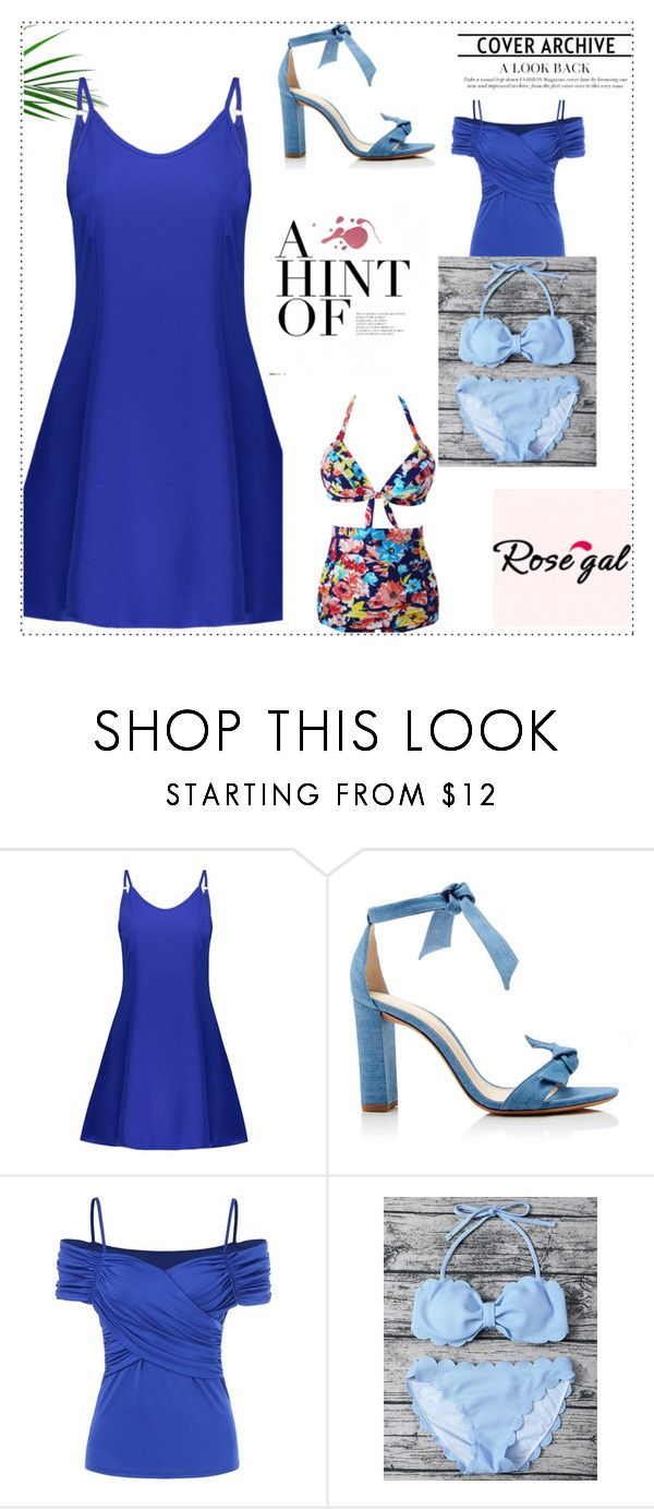 """""""rosegal 7"""" by obsessedwithnicestuff ❤ liked on Polyvore featuring Alexandre Birman"""