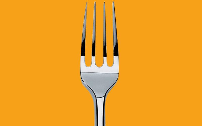 Comida tenedor diseño gráfico