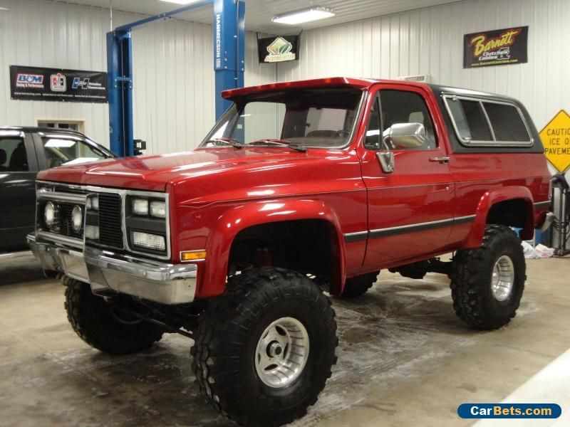 Car For Sale 1985 Chevrolet Blazer K5