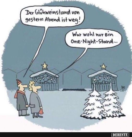Der Glühweinstand von gestern Abend ist weg! | Lustige Bilder, Sprüche, Witze, echt lustig #comicsandcartoons Der Glühweinstand von gestern Abend ist weg! | Lustige Bilder, Sprüche, Witze, echt lustig