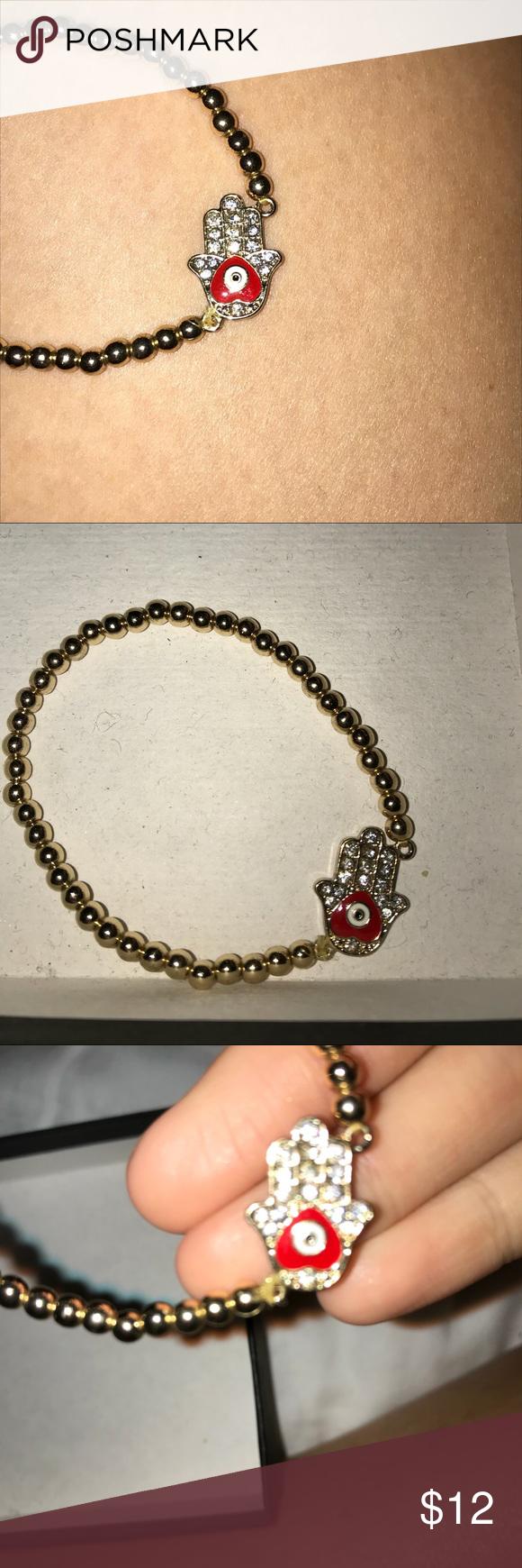 Evil Eye Bracelet Diamond Encrusted Red Evil Eye Bracelet Fred Segal Jewelry Bracelets Evil Eye Bracelet Bracelets Pandora Charm Bracelet