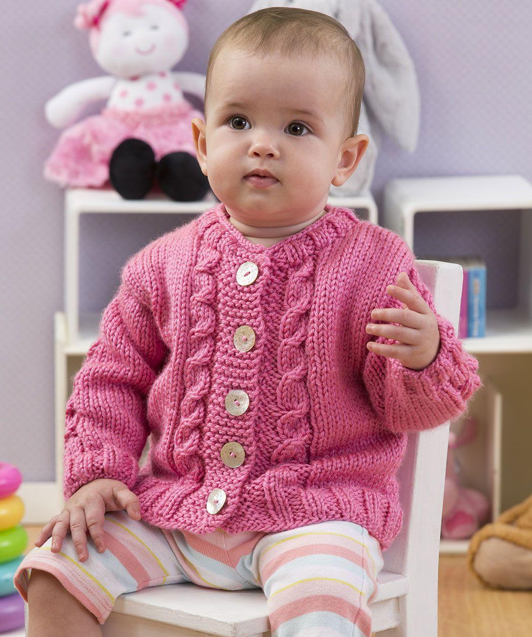 Hier ist die perfekte Jacke, damit Ihr Baby es gemütlich und warm ...