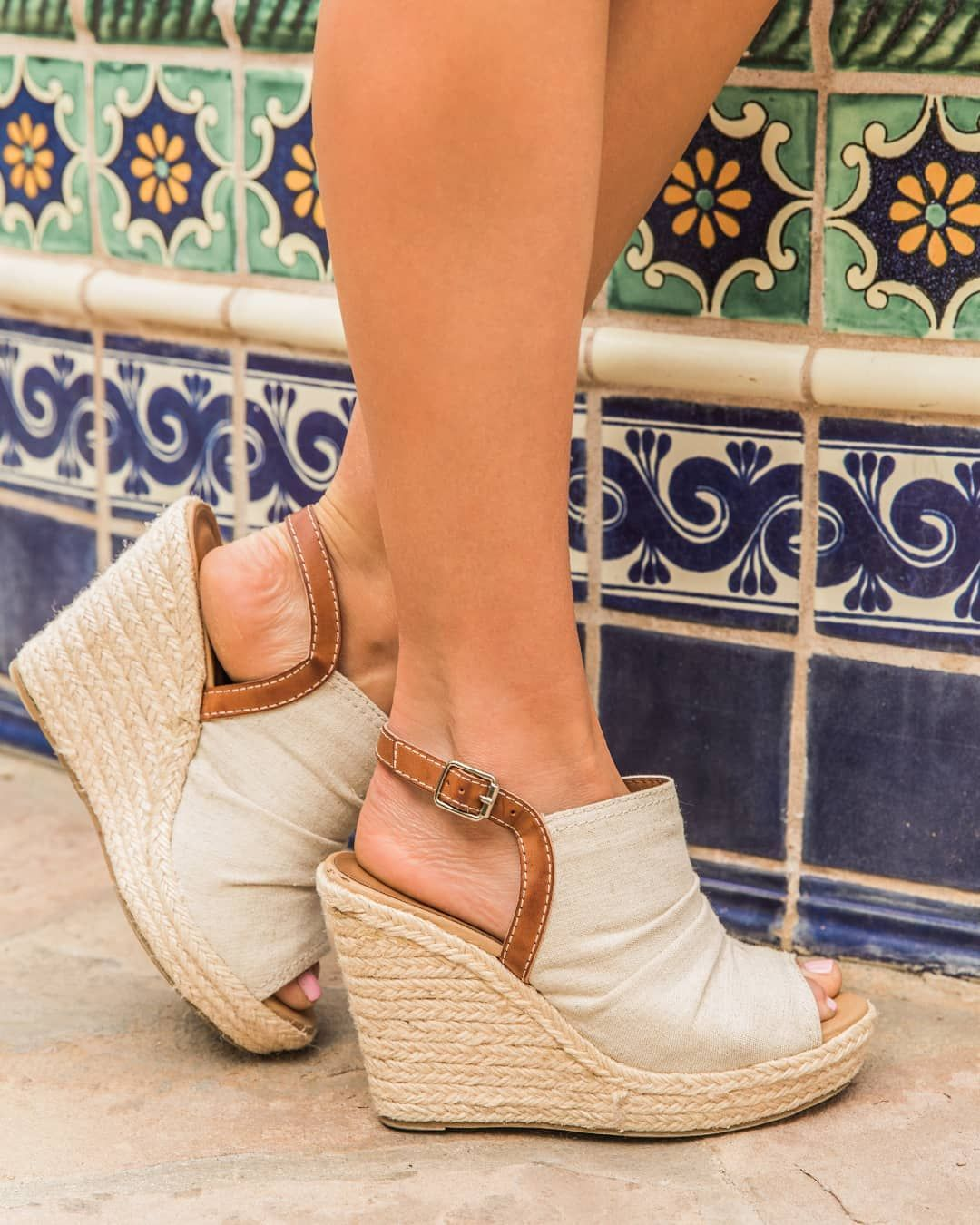 "83ca5442404 The Pink Lily Boutique on Instagram: ""I love these wedges! They are ..."