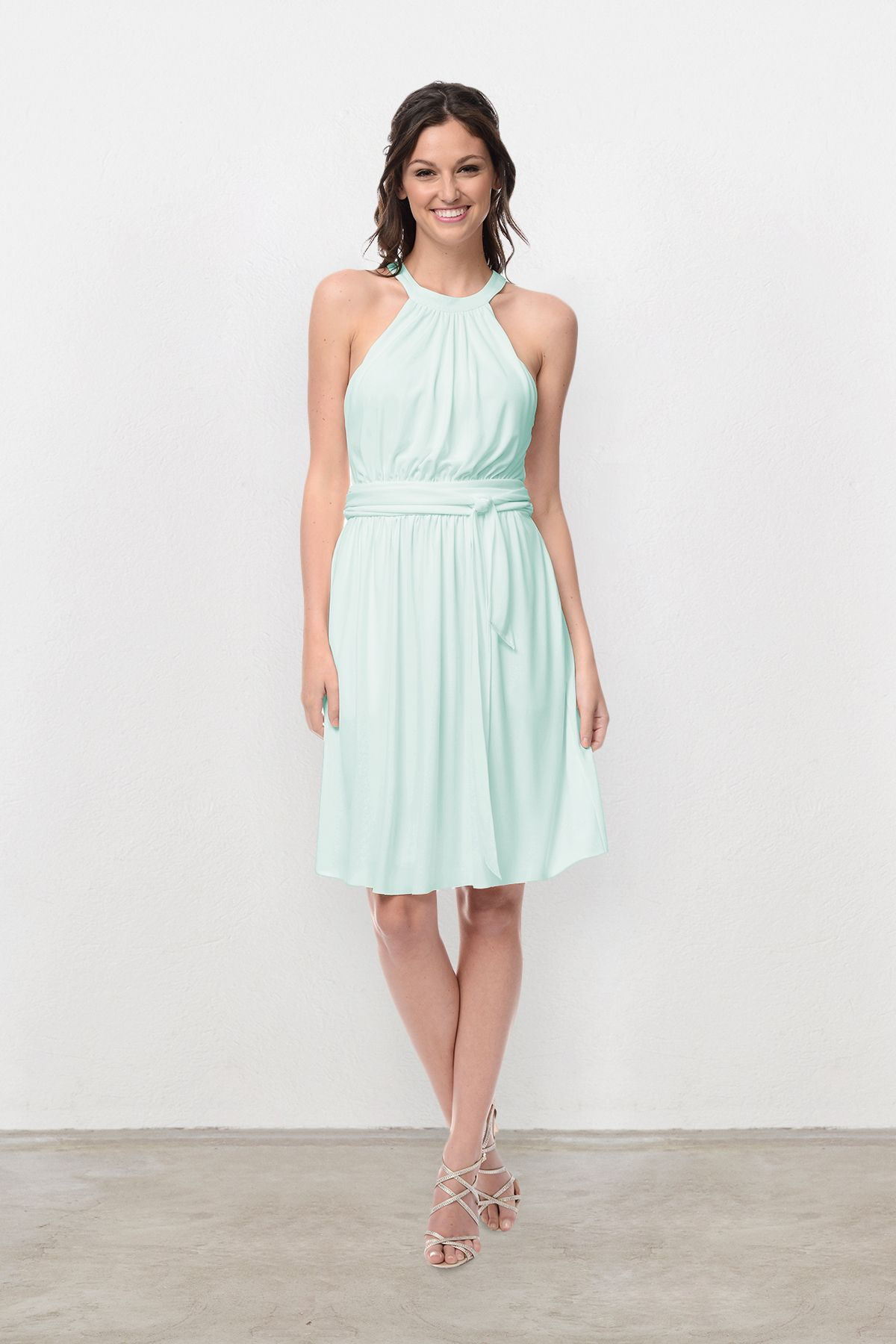 468116f0734 Jessica Bridesmaid Dress in Mint