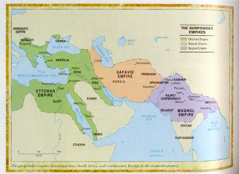 The ottoman empire formed after the abbasid fall and peaked in the gunpowder empires of asia gumiabroncs Gallery