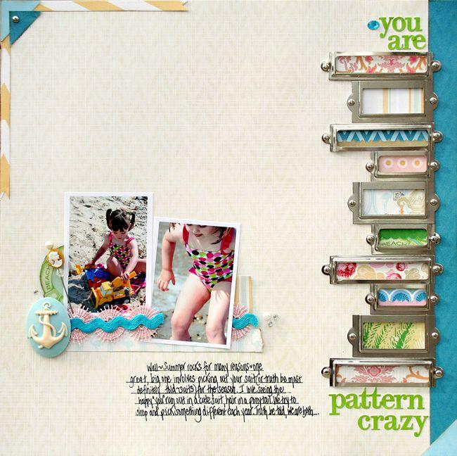bookplates  scrapbook page