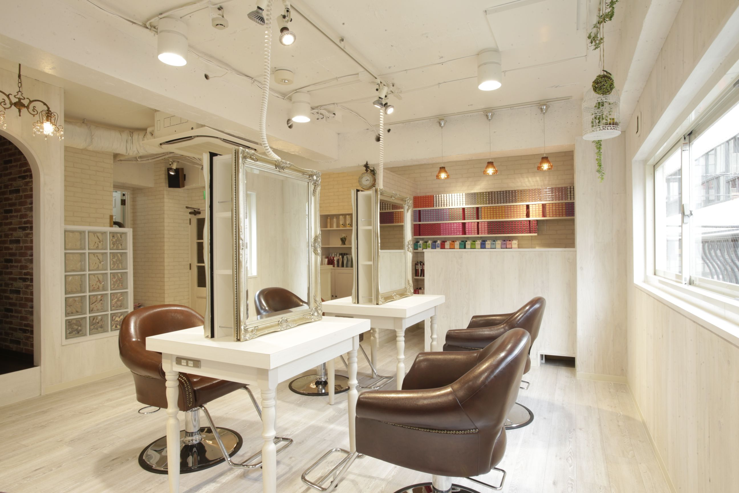 beauty salon interior design ideas hair space decor japan antique - Beauty Salon Interior Design Ideas