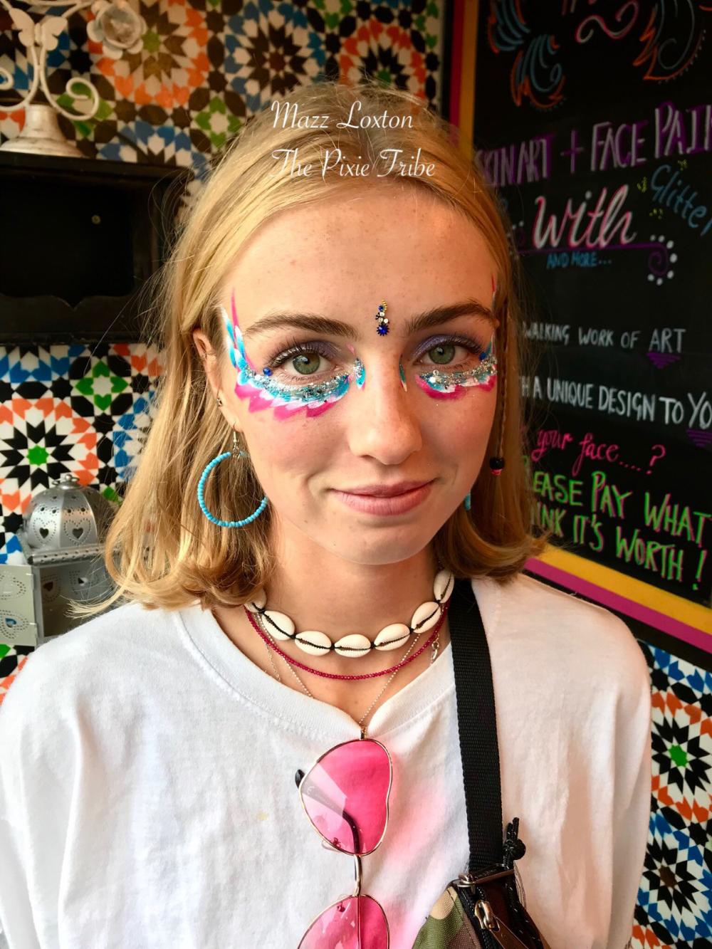 Glitter Festival Face Paint Google Search