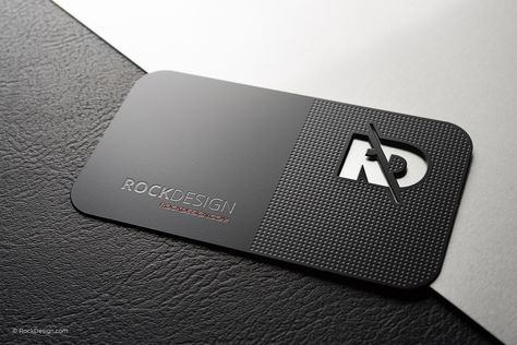 Business Credit Card Guide Business Card Design Black Metal