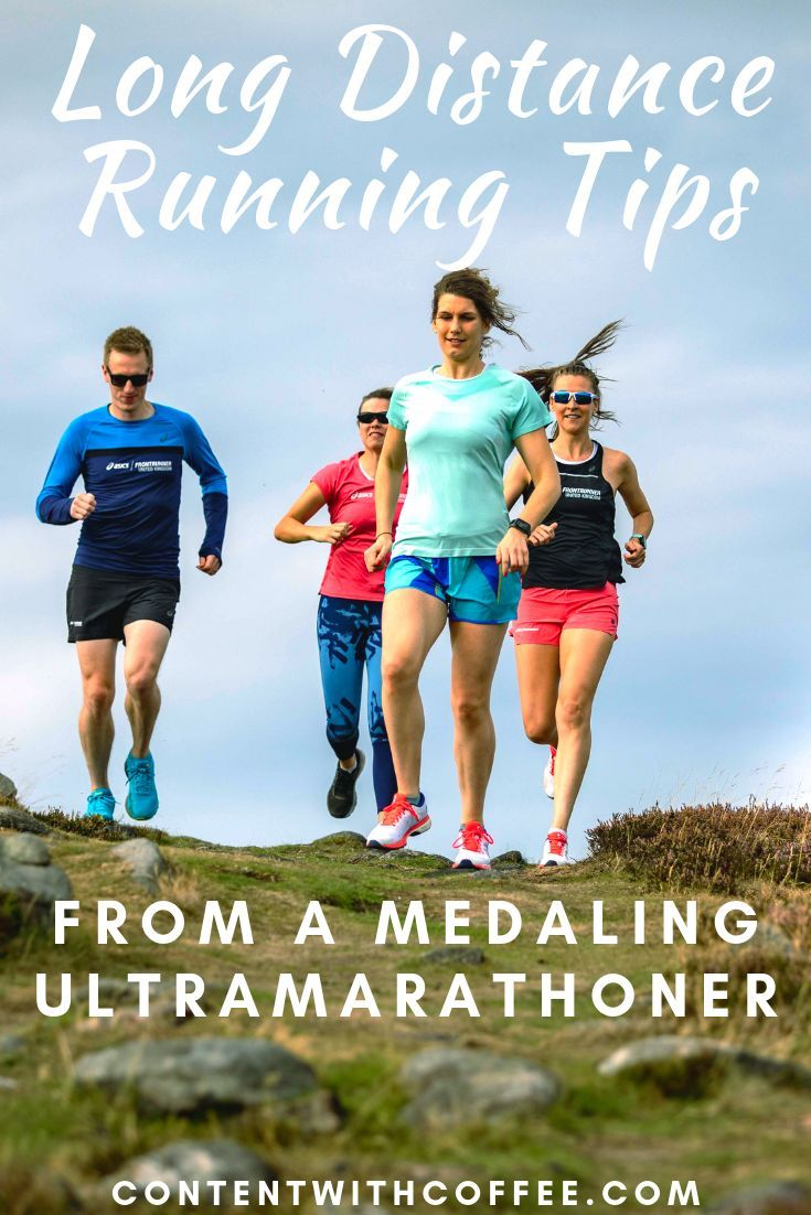 Thinking of running long distance?? Good for you! It's seriously one of the most rewarding types of...