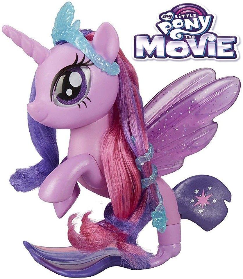 Twilight Sparkle Glitter Style Seapony My Little Pony The Movie Moj Mali Poni My Little Pony Figure Igracke Za Djevojcice Minibigme Sve Z Actividades