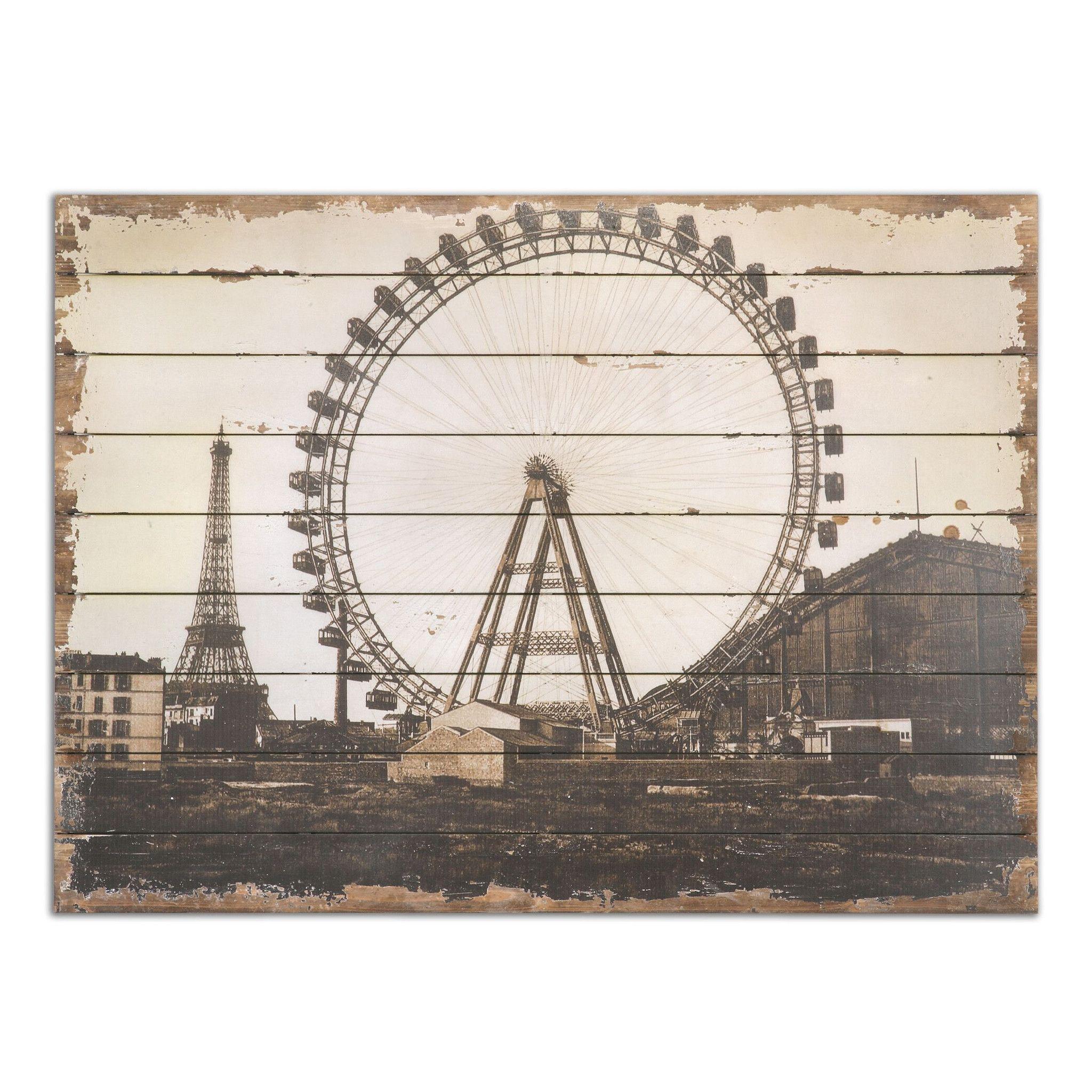 Roue De Paris Print Art