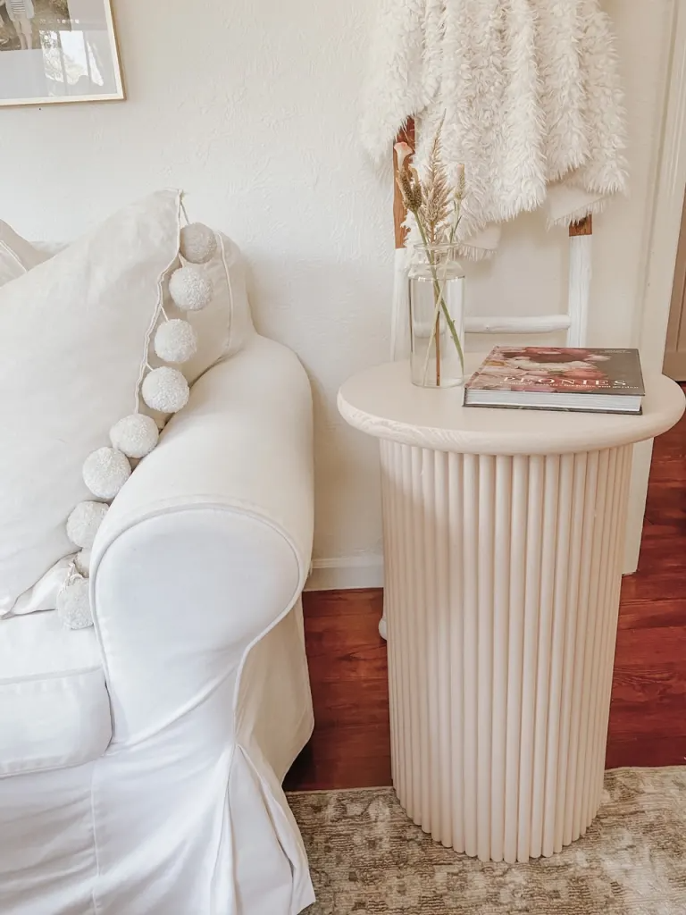 8 Easy Trendy Fluted Furniture Diys For Every Room In Your Home In 2021 Diy Side Table Side Table Decor West Elm Side Table [ 1024 x 768 Pixel ]