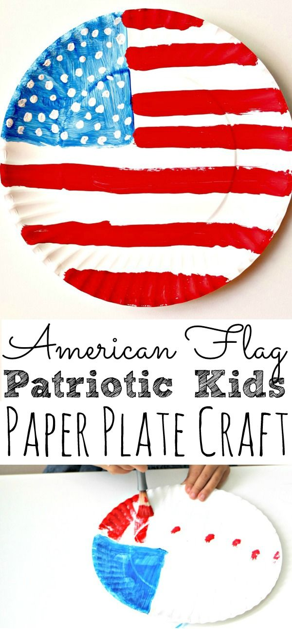 American Flag Craft For Kids #americanflag