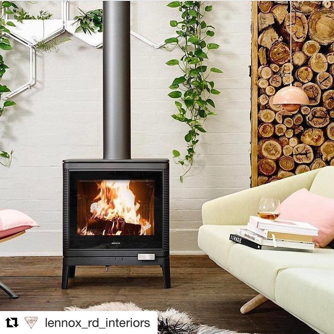 """152 Likes, 3 Comments - Greenhouse Interiors (@greenhouseinteriors) on Instagram: """"The ONLY good thing about summer departing is imagining sitting by this roaring baby ....I am…"""""""