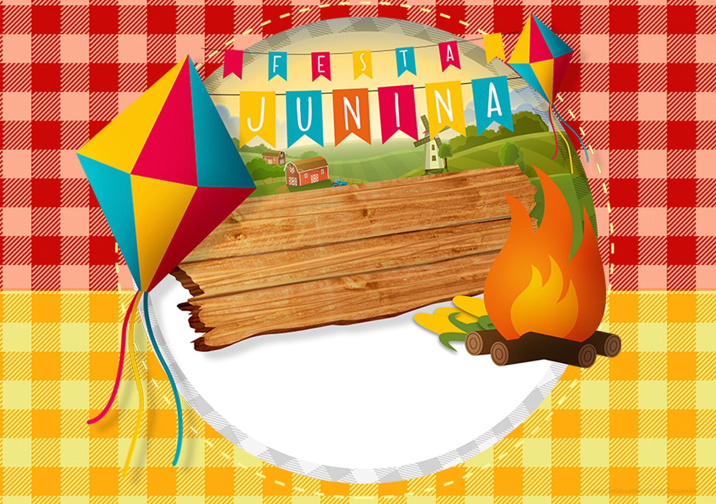 Armario Nancy Famosa ~ Convite Festa Junina 2 Arraiá, Sal u00e3o de festas e Vizinhos