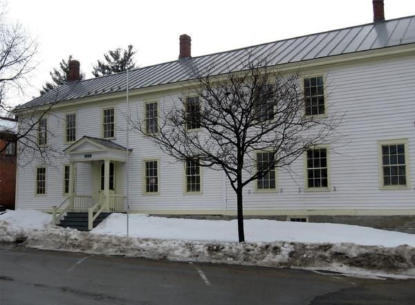 The Wright's Inn, aka Essex Town Hall today (Credit: Rabideau Corp.)