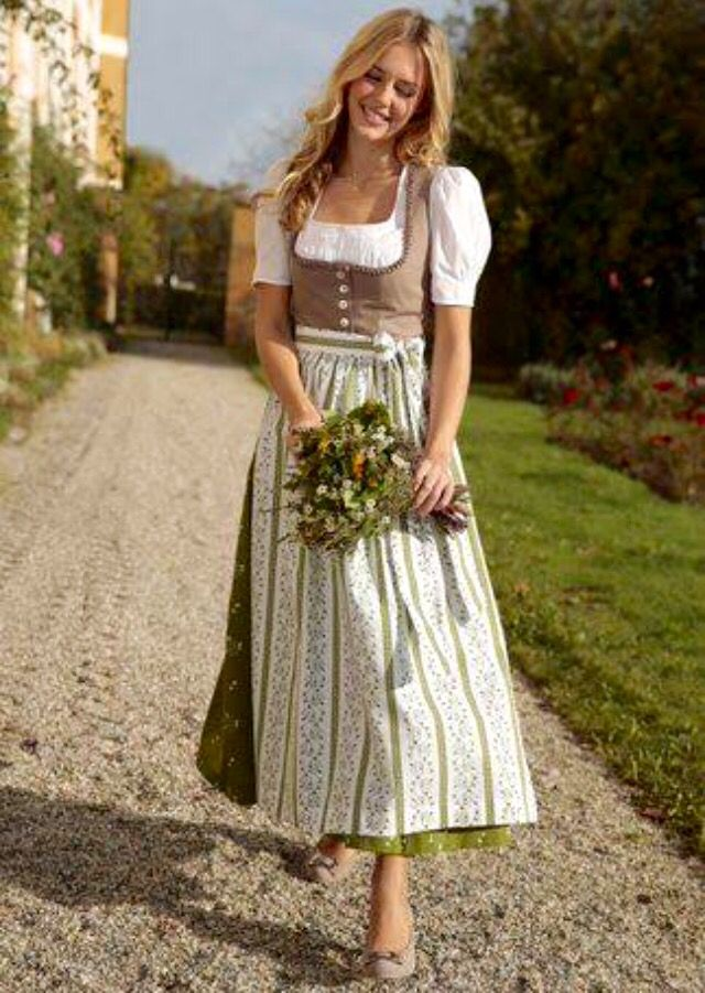 Traditional Bavarian Dirndl - charming | Musing ...
