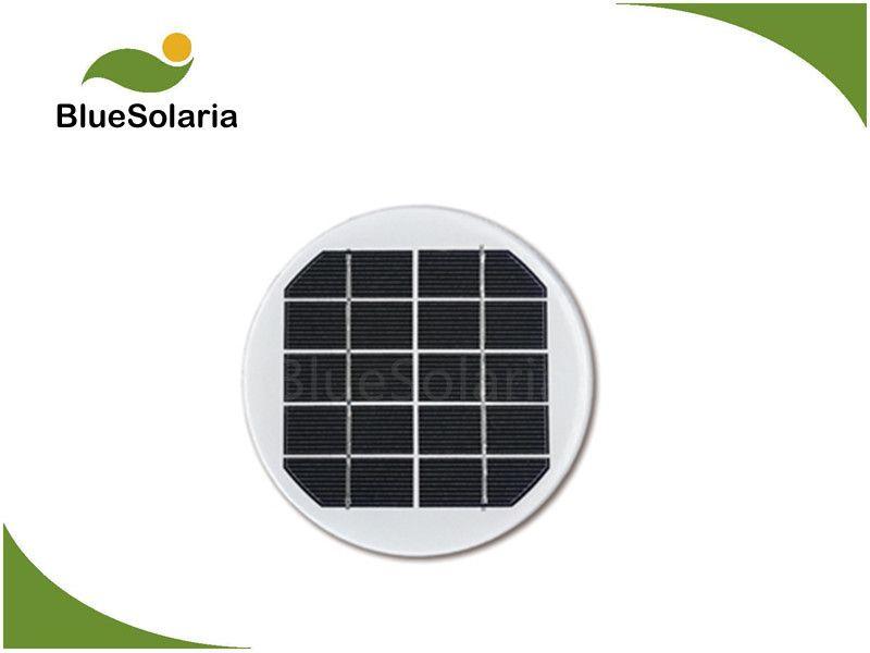 5v 1 5w Round Solar Panel Solar Panels Small Solar Panels Solar