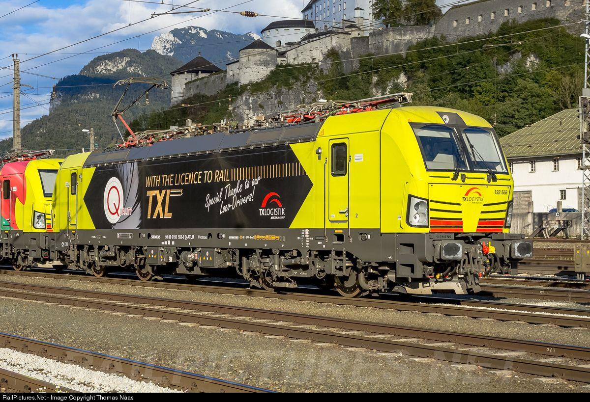193 556 TXLogistic Siemens Vectron MS at Kufstein, Austria ...