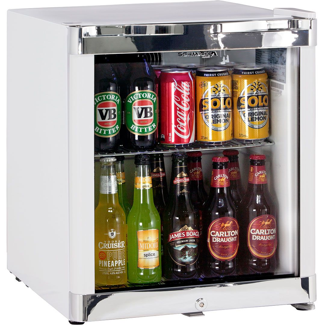 Schmick Glass Door Bar Fridge Tropical Mini 50litre Outdoor Bar