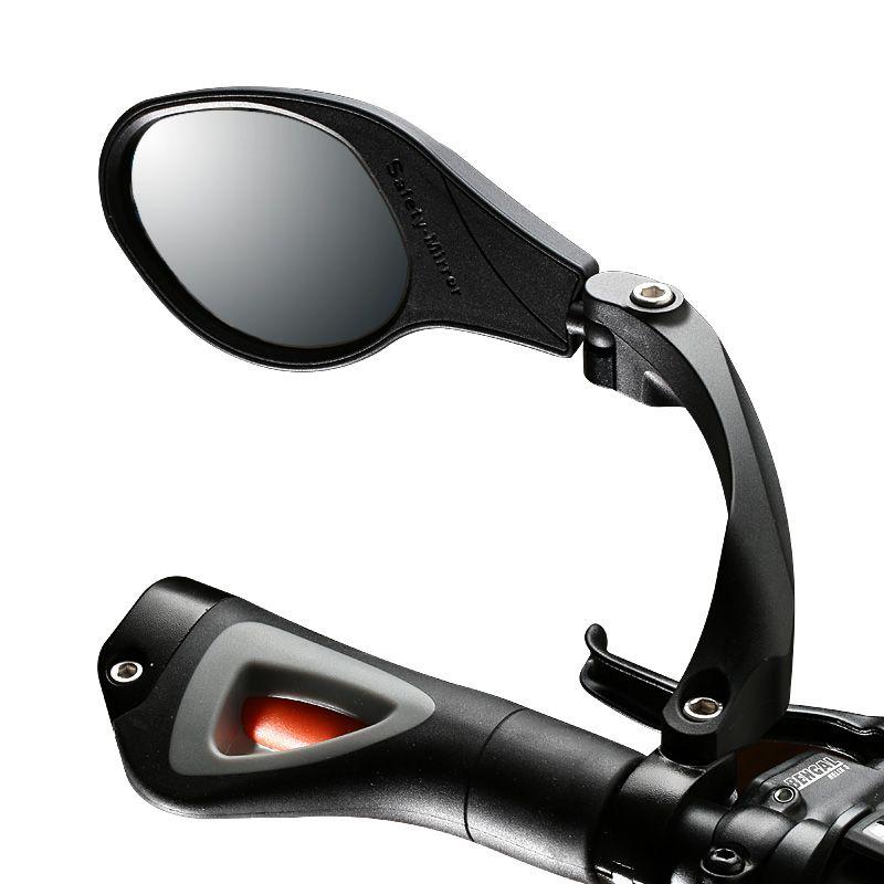 Mtb Road Bike Rear View Mirror Handlebar Back Eye Blind Spot