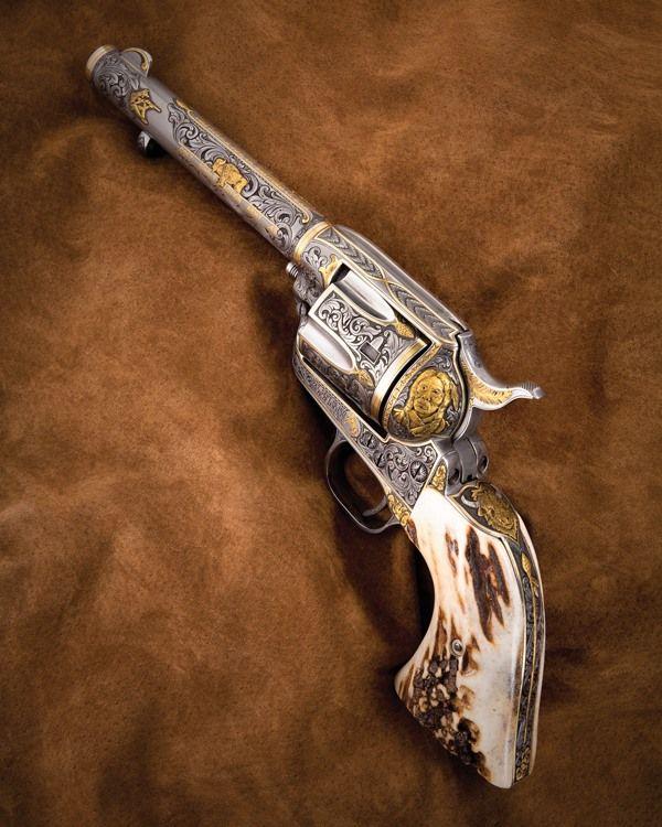 Gun Photos 20 Engraved Guns Of Gun Digest 2011