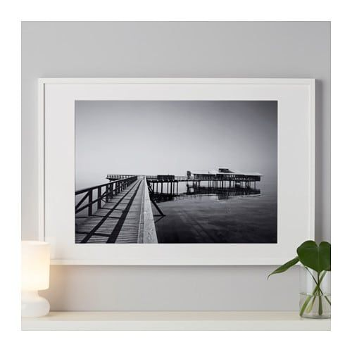 Ribba White Frame 50x70 Cm Ikea Ribba Frame Decorating With Pictures White Interior Design