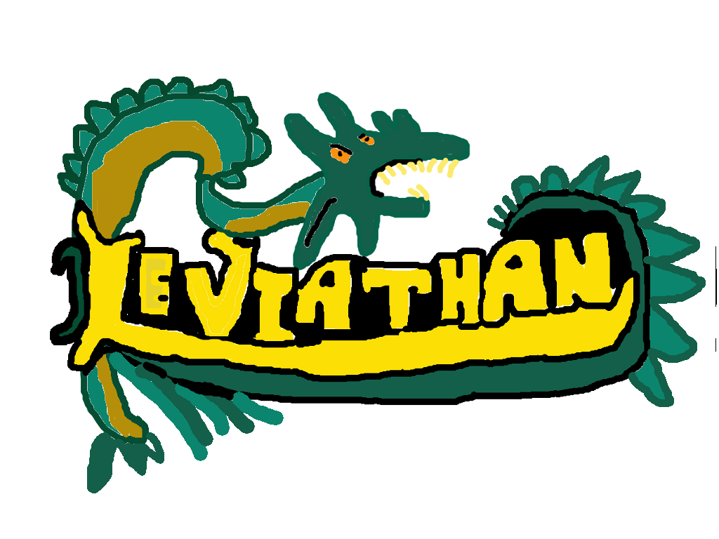 Leviathan roller coaster logo by PikachuxAsh